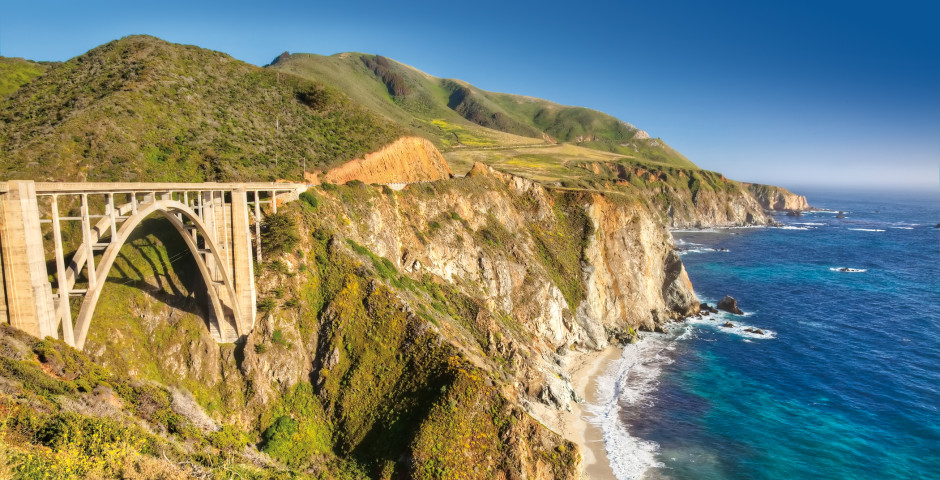 Bixby Creek Bridge - Monterey