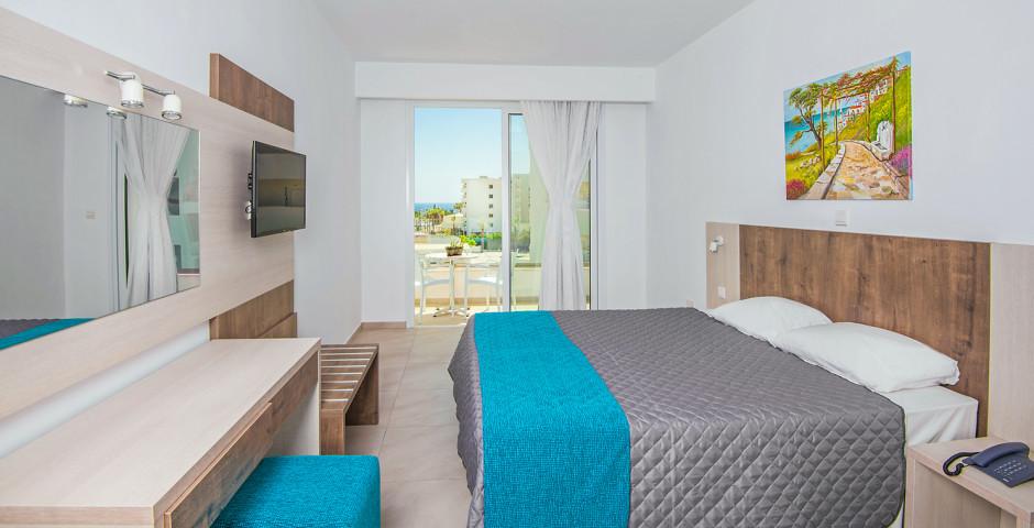 Familienzimmer Superior mit Meersicht - New Famagusta