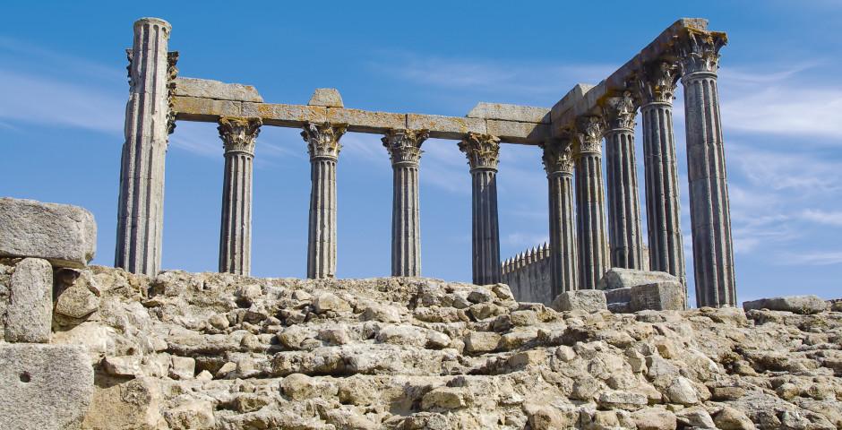 Tempel Diana, Evora - Portugals Süden