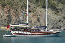 Voyage bleu, de/à Antalya
