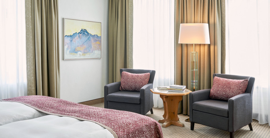 Junior Suite - Cresta Palace - Skipauschale