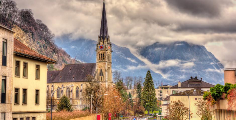 Katehdrale St. Florin, Vaduz - Liechtenstein