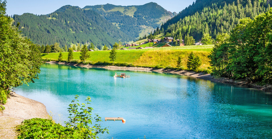 Bergsee bei Steg - Liechtenstein