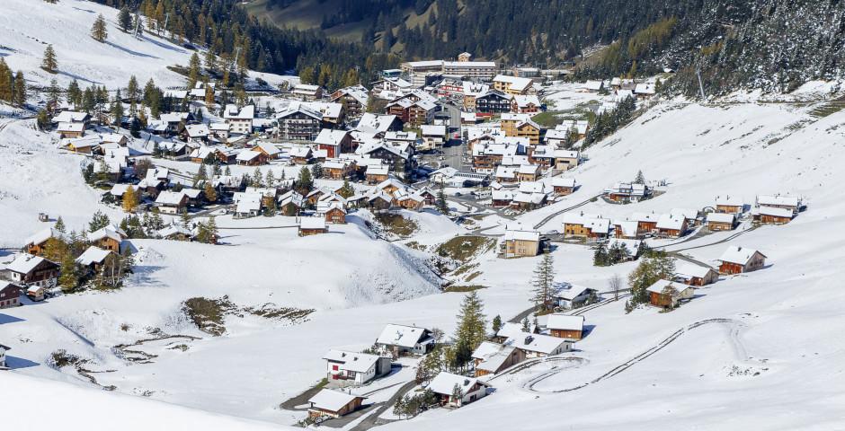 Blick auf Malbun - Liechtenstein