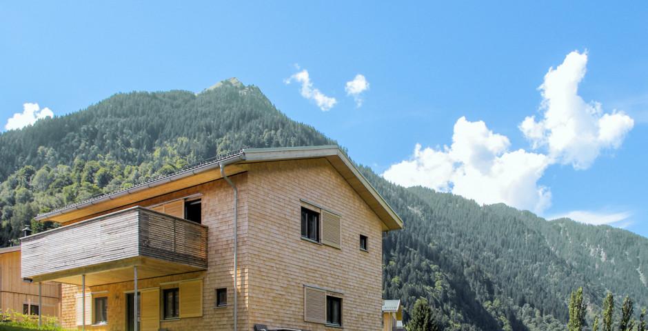 Chalet Resort Montafon - Sommer inkl. Bergbahnen