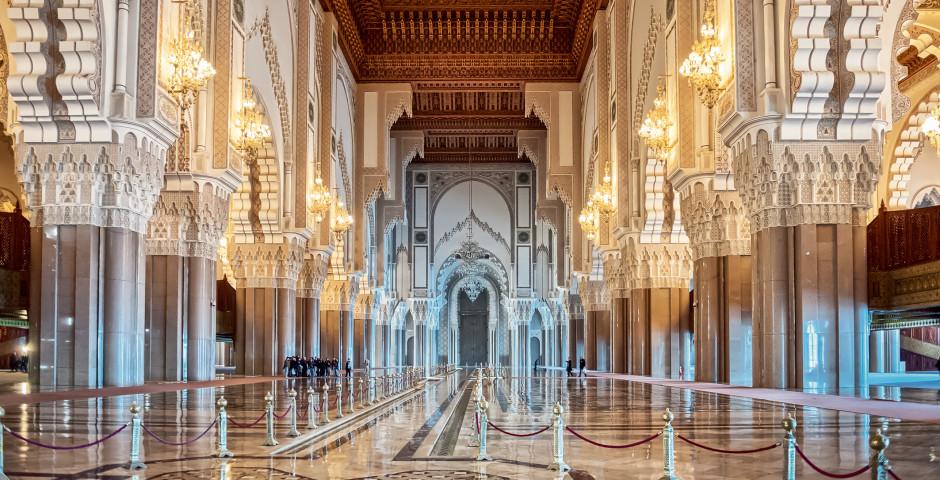Hassan-II.-Moschee von innen