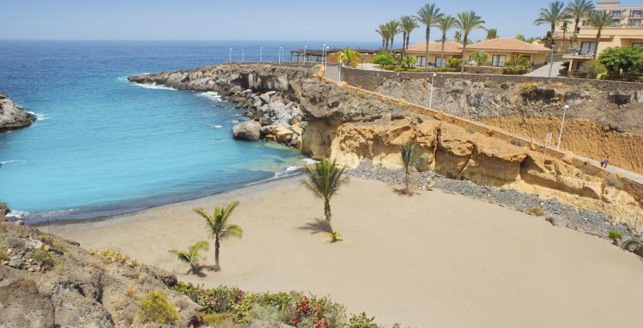 Herrlicher Sandstrand Playa Las Galgas - Playa Paraiso