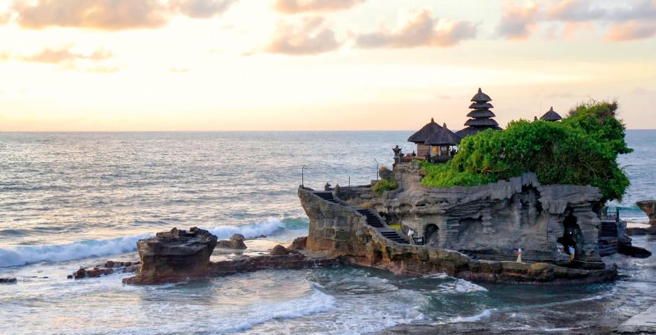 Tanah Lot-Tempel - Charmantes Bali