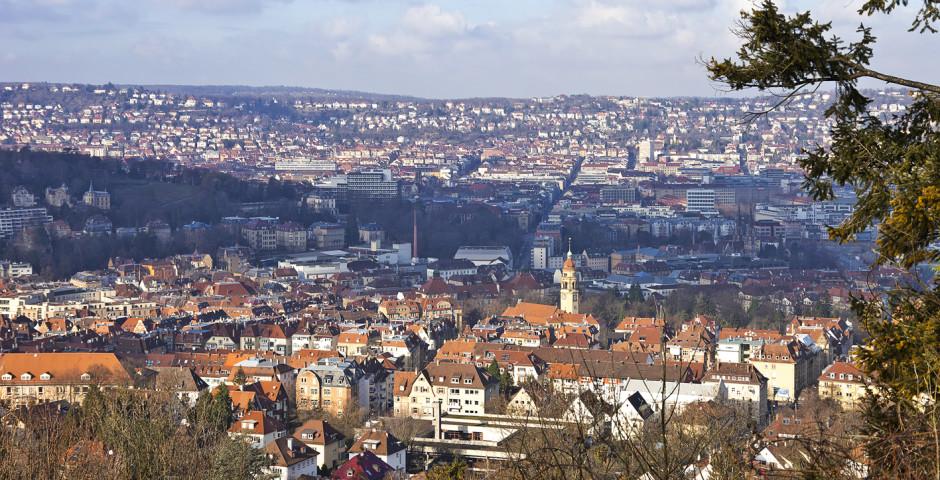 Luftaufnahme - Stuttgart