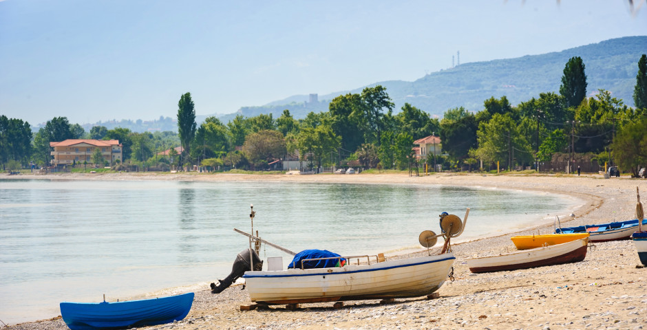 Strand von Leptokarya
