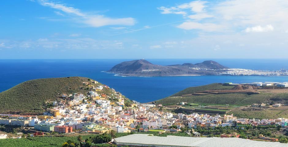 Blick auf den Ort Cardones bei Arucas - Arucas