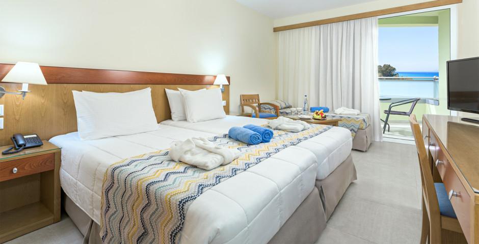 Doppelzimmer mit Gartensicht