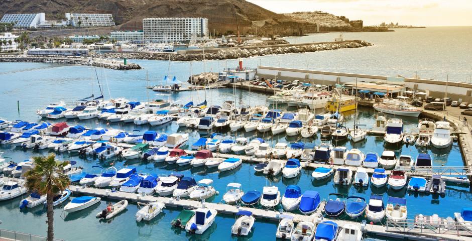 Boote im Hafen von Puerto Rico - Puerto Rico