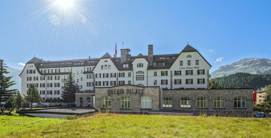 Cresta Palace - Sommer inkl. Bergbahnen*