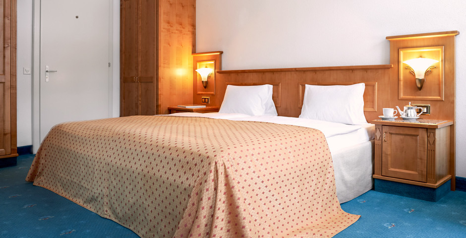Doppelzimmer - Cresta Palace - Sommer inkl. Bergbahnen*