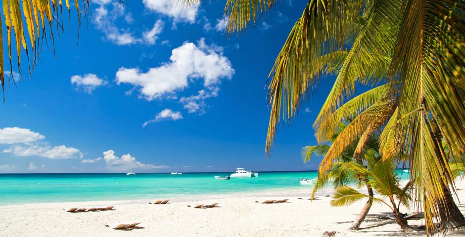 Weisser Sandstrand - Long Island Bahamas