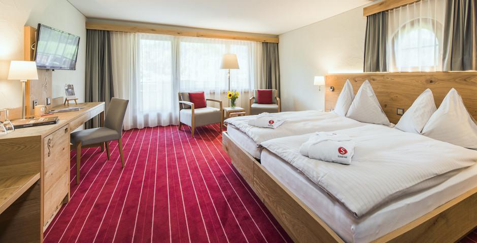 Doppelzimmer Premium - Sunstar Hotel Klosters - Skipauschale