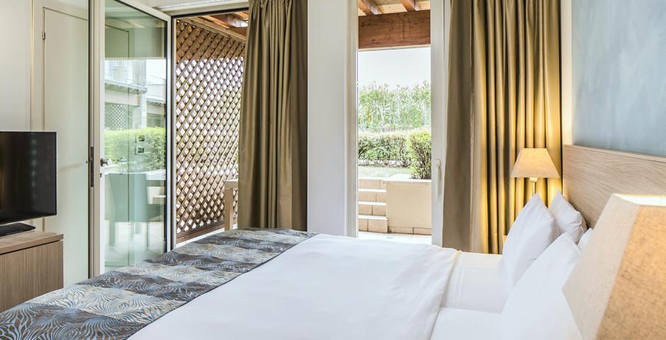 Appartement mit 2 Schlafzimmern - Falkensteiner Appartements Lake Garda