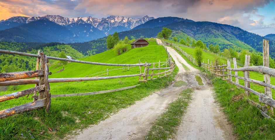 Landschaft in Siebenbürgen - Rumänien