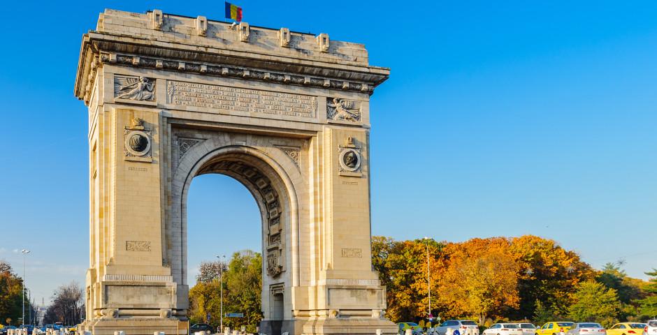 Arc de triomphe - Bucarest