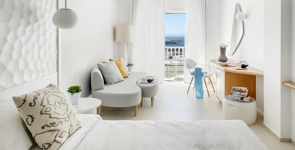 Doppelzimmer Sunrise - Myconian Kyma Thalasso Spa
