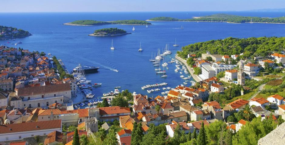 Insel Hvar - Inselhüpfen Dalmatien mit MS Splendid