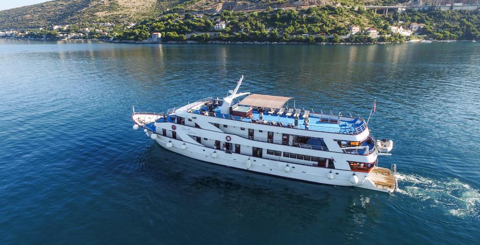 MS Splendid - Inselhüpfen Dalmatien mit MS Splendid