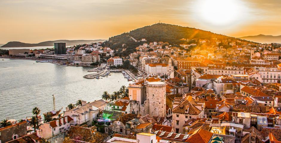 Split - Inselhüpfen Dalmatien mit MS Splendid