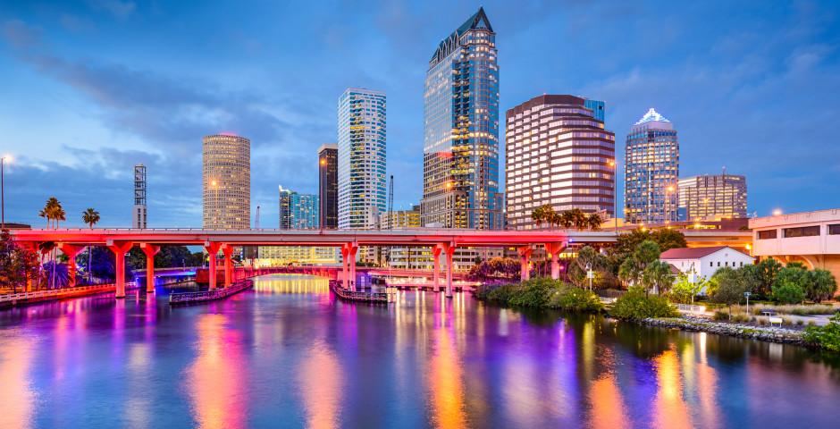 Vue nocturne - Tampa Bay