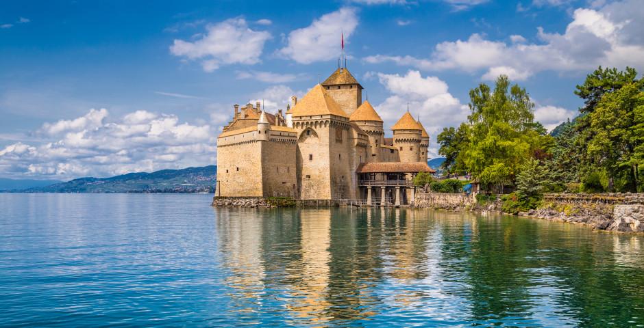 Schloss Chillon am Genfersee - Waadt