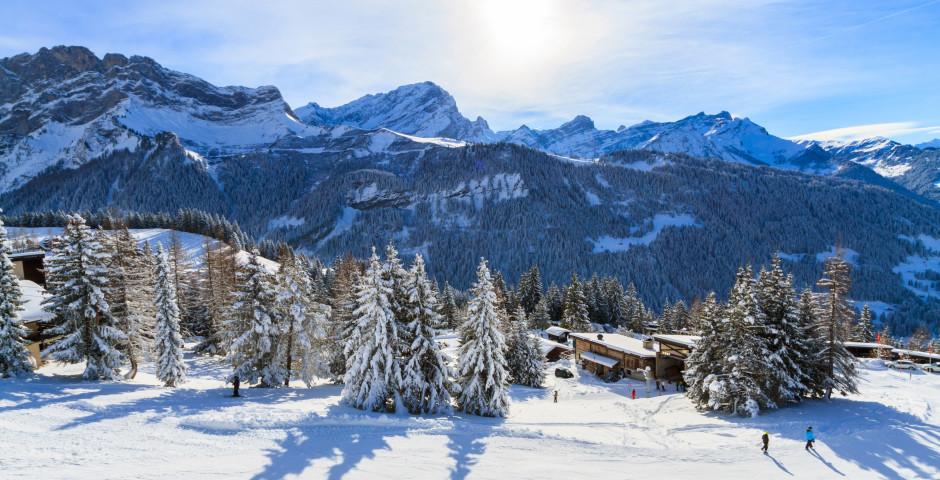 Winterlandschaft von Villars-sur-Ollon - Villars-sur-Ollon