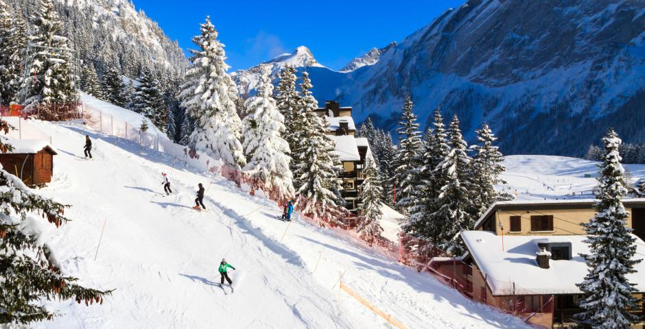 Skifahren in Villars-sur-Ollon - Villars-sur-Ollon