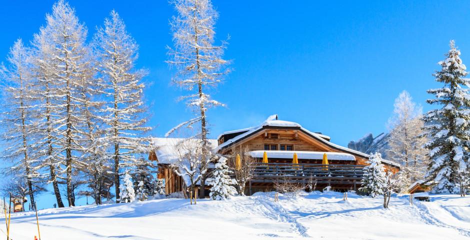 Restaurant dans le domaine skiable