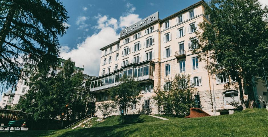 Hôtel Saratz - été, remontées mécaniques incluses*