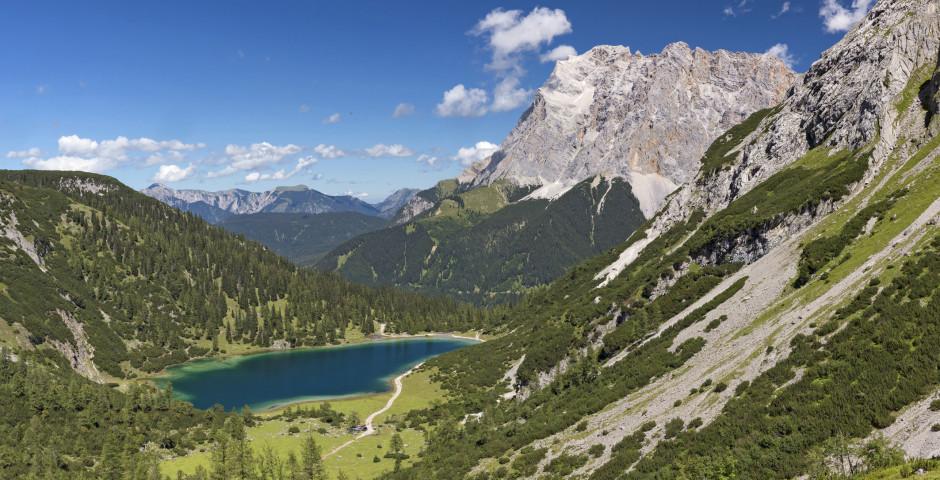 Wanderung zum Seebensee - Zugspitzgebiet