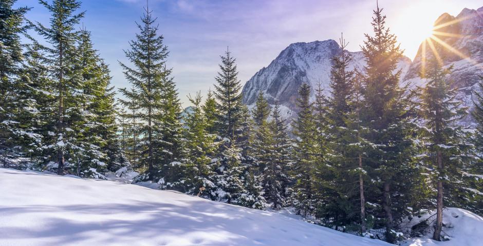 Zugspitzengebiet en hiver - Zugspitzgebiet