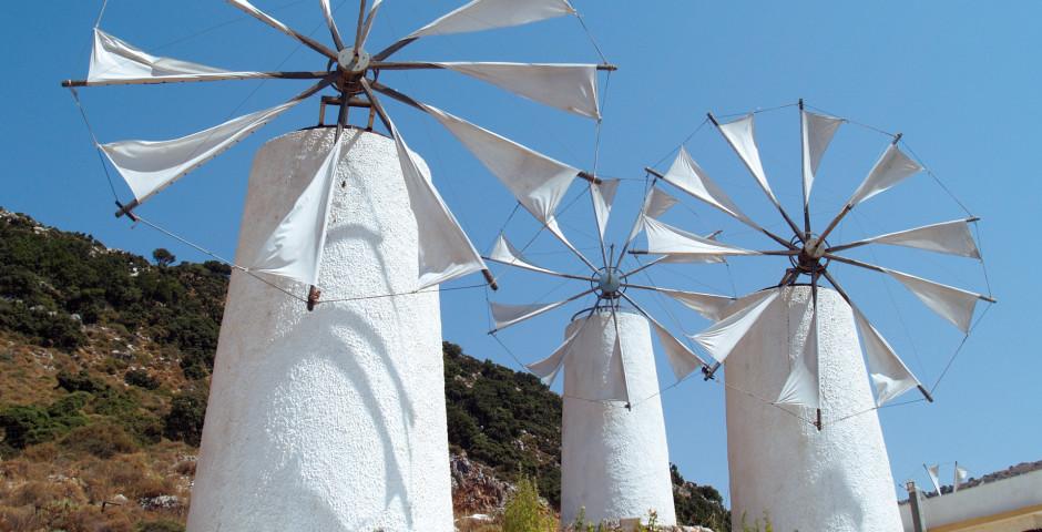 Ostkreta: Lassithi - Fly & Drive Kreta Ost