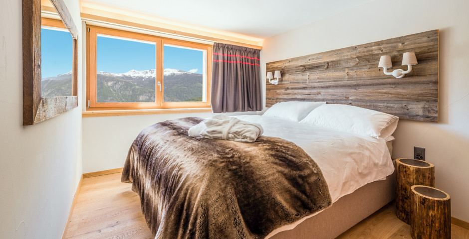 2-Zimmer-Appartement / 3-Zimmer-Appartement - Swisspeak Resort Vercorin