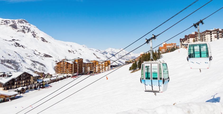 Les Menuires dans le domaine skiable Les 3 Vallées