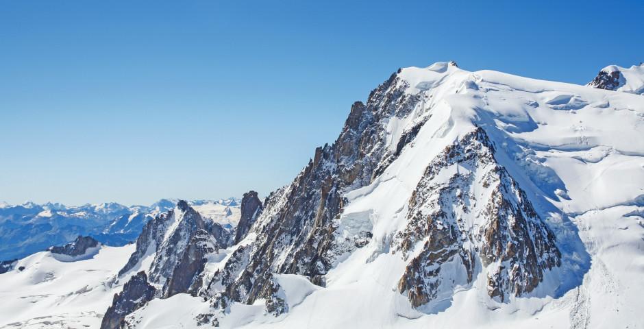 Aussicht vom Mont-Blanc - Chamonix Mont-Blanc