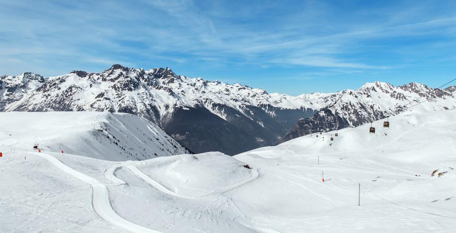 Skipiste in Alpe d'Huez - Alpe d'Huez / Dauphiné