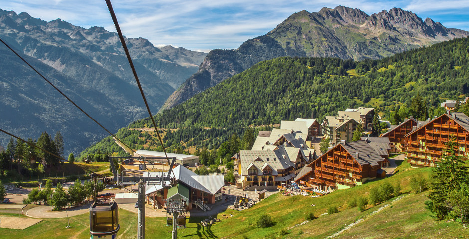 Bergbahn in Alpe d'Huez - Alpe d'Huez / Dauphiné