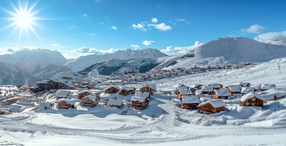 Alpe d'Huez en hiver