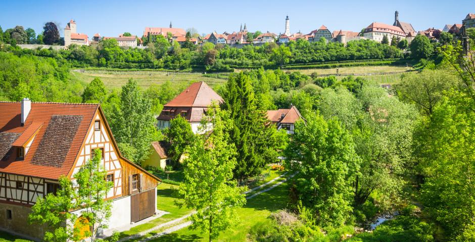 Maisons à colombages - Rothenburg ob der Tauber