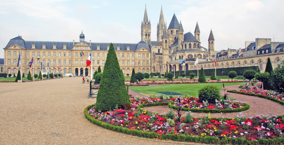 l'Abbaye aux hommes à Caen
