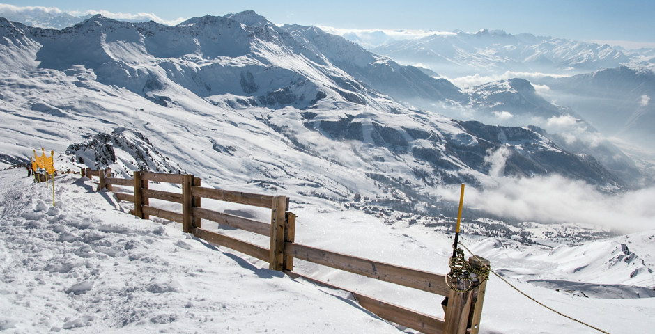 Skifahren in Valmorel