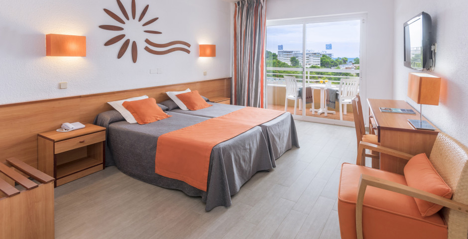 Doppelzimmer - Hotel Cala Font