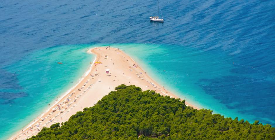 Insel Brac - Dalmatinische Inselwelt mit MS Mama Marija
