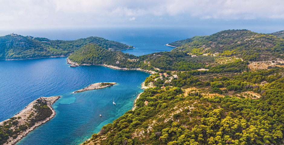 Mljet - Dalmatinische Inselwelt mit MS Mama Marija