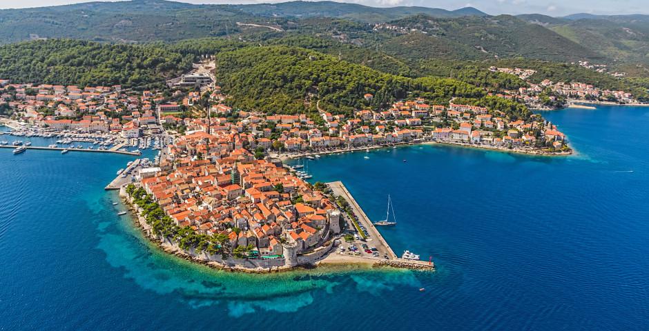 InselKorcula - Dalmatinische Inselwelt mit MS Mama Marija